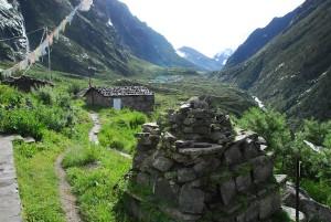Langtang Village in Nepal