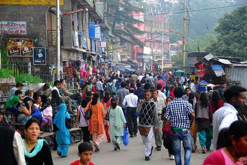 Always busy Lakkar Bazar