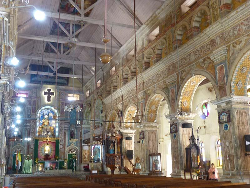 The beautiful Santa Cruz Basilica