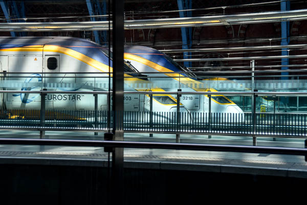 The Eurostar, a thing of beauty.