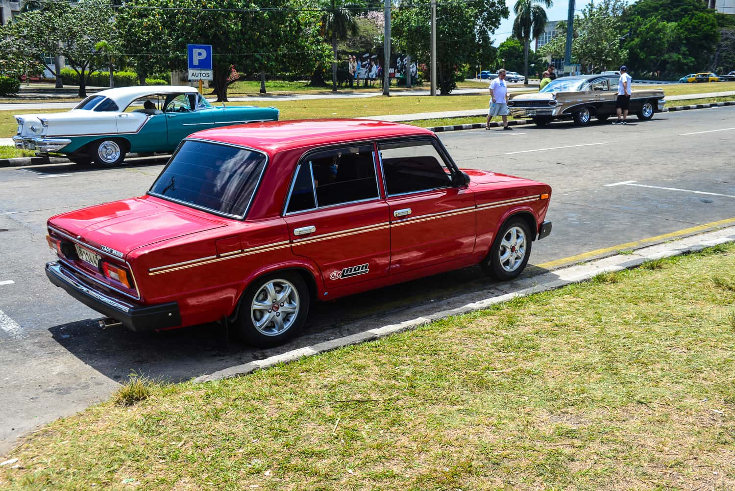 The Russian tribute to the world of cars ... the Lada.
