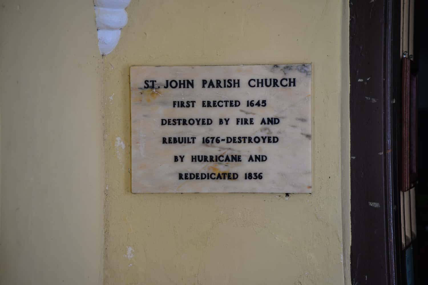 This church seems to have ad a pretty checkered history. The locals, however, can be pretty persistent.