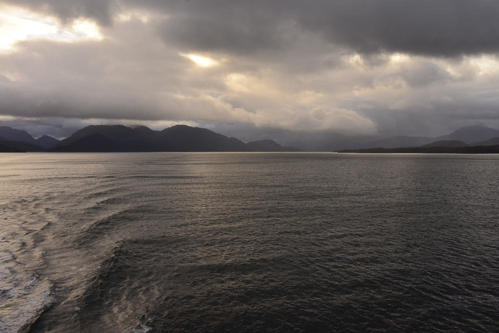Darwin Channel in Patagonia, southern Chile.