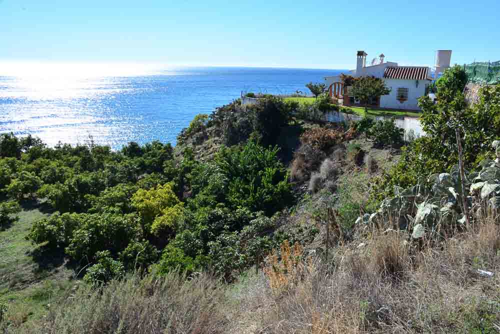 house on the coast of the costa del sol spain