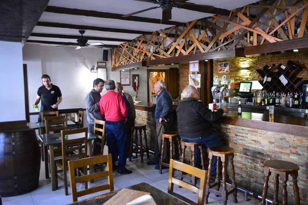 Bar in Portugos La Taha, Sierra Nevada, Spain