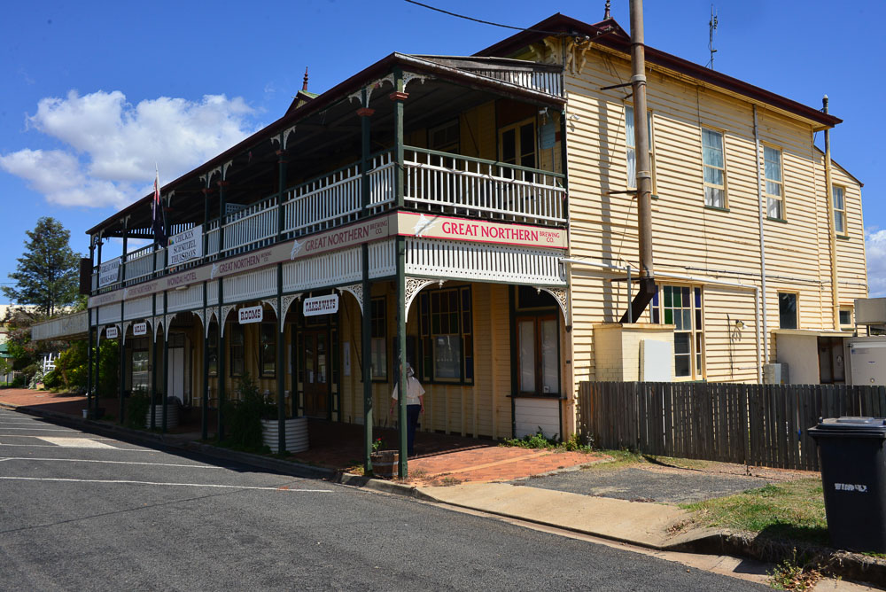 The classic australian country hotel
